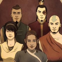 Пазл онлайн: Команда Аватара