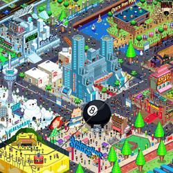 Пазл онлайн: Парк  развлечений