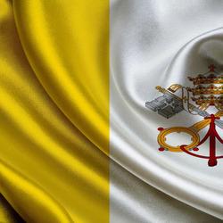 Пазл онлайн: Флаг Ватикана