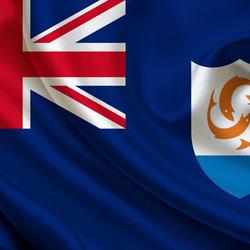 Пазл онлайн: Флаг Ангильи