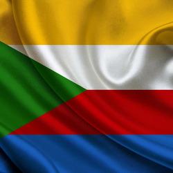 Пазл онлайн: Флаг Коморских островов