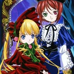 Пазл онлайн: Куклы Синку и Сосэй Сэки