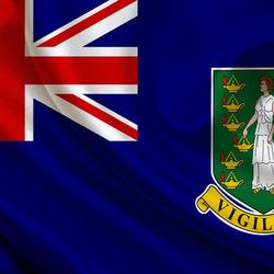 Пазл онлайн: Флаг Британский Виргинских островов