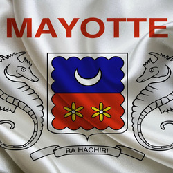 Пазл онлайн: Флаг Майотты