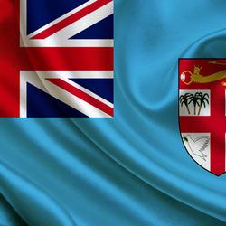 Пазл онлайн: Флаг Фиджи