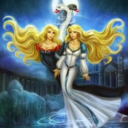 Пазл онлайн: Принцесса Черная лебедь
