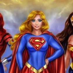 Пазл онлайн: Супер-девушки