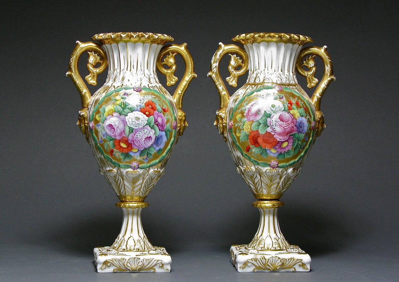 картины красивые старинные вазы картинки рыб
