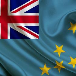 Пазл онлайн: Флаг Тувалу