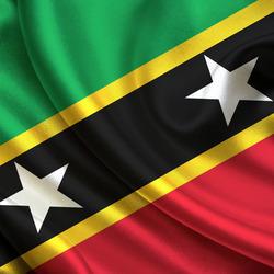 Пазл онлайн: Флаг Сен-Китса и Невиса