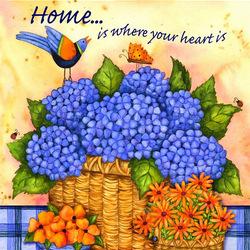 Пазл онлайн: Дом там, где твое сердце