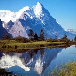 Пазл онлайн: Альпийские вершины