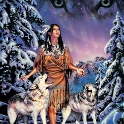 Пазл онлайн: Дух волка