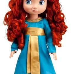 Пазл онлайн: Кукла Мерида