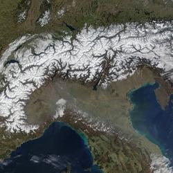 Пазл онлайн: Альпы