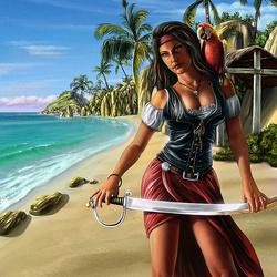 Пазл онлайн: Остров пиратов