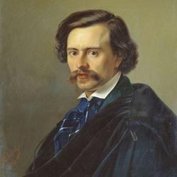 Пазл онлайн: Портрет художника Потапа Терентьевича Петровского