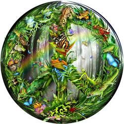 Пазл онлайн: Мир джунглей