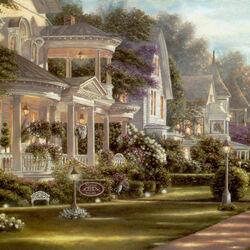 Пазл онлайн: Викторианская архитектура