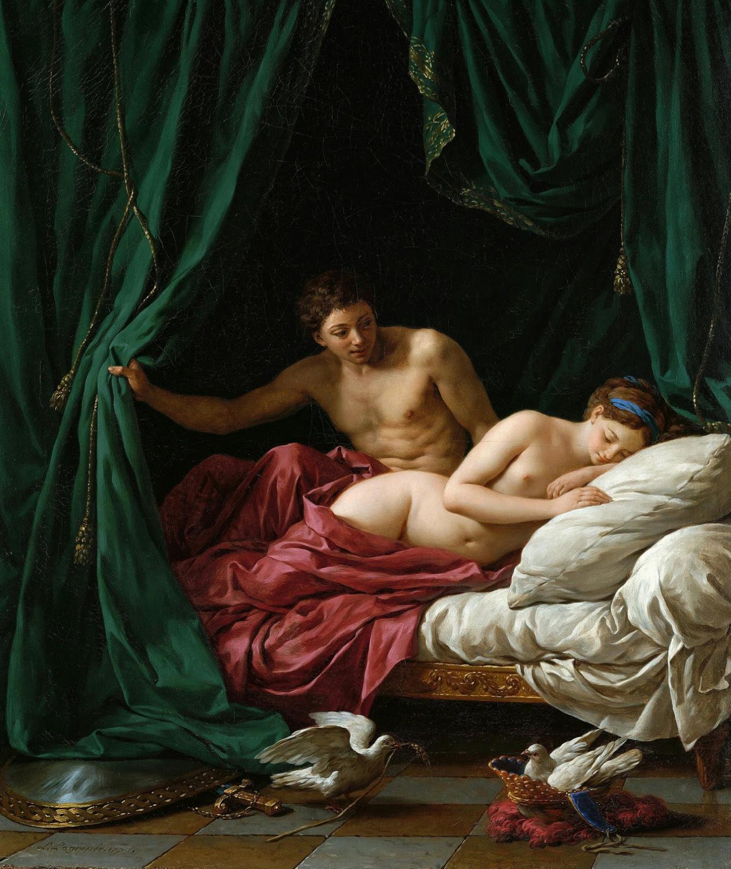 Суют картины со всего мира искусство в сексе