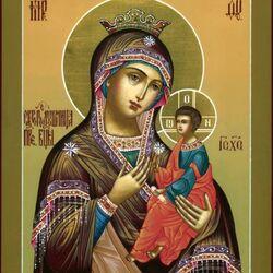 Пазл онлайн: Икона Божией Матери