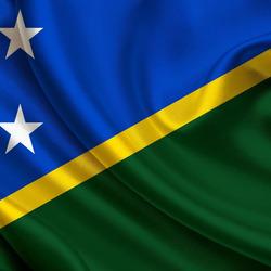 Пазл онлайн: Флаг Соломоновых островов