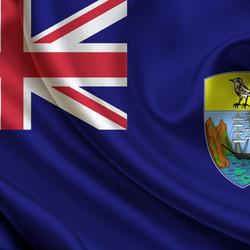 Пазл онлайн: Флаг Острова Святой Елены