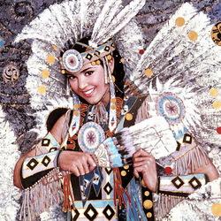 Пазл онлайн: Индейские мотивы