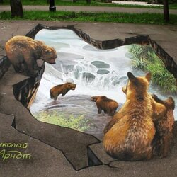 Пазл онлайн: 3D-рисунки Николая Арндта