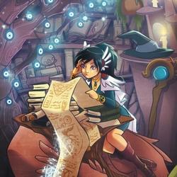 Пазл онлайн: Магические свитки