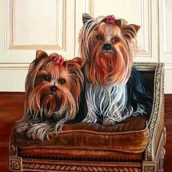 Пазл онлайн: Двойняшки