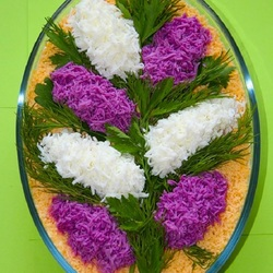 Пазл онлайн: Салат