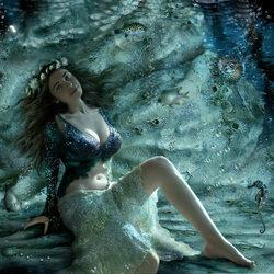 Пазл онлайн: Морская фея