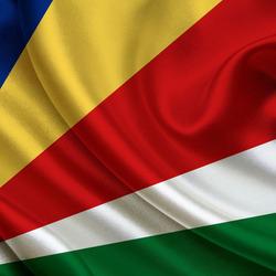 Пазл онлайн: Флаг Сейшельских островов