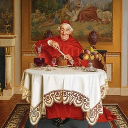 Пазл онлайн: Вкусный пирог