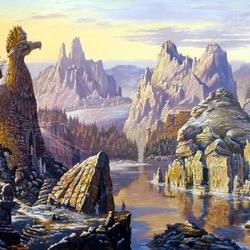 Пазл онлайн: Ведическая Русь. Священное озеро Сиверских гор