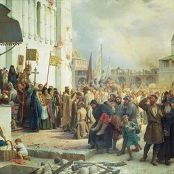 Пазл онлайн: Осада Троице-Cергиевой лавры