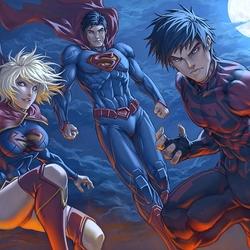 Пазл онлайн: Супергерои