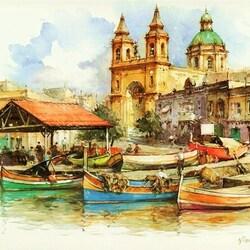 Пазл онлайн: Мальта