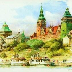 Пазл онлайн: Штетти́н или Ще́цин. Польша