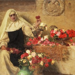 Пазл онлайн: Для Дня Святой Доротеи