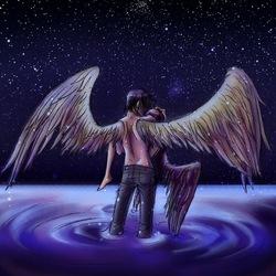 Пазл онлайн: Ангелы