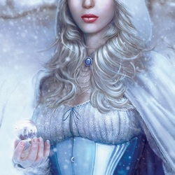 Пазл онлайн: Леди-Зима
