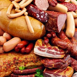Пазл онлайн: Мясной пир