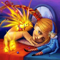Пазл онлайн: Король солнечных зайчиков