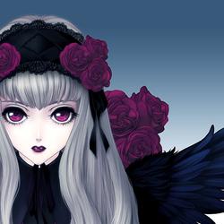 Пазл онлайн: Темный ангел