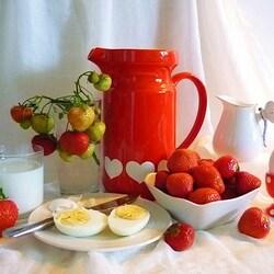 Пазл онлайн: Летний завтрак