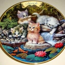 Пазл онлайн: Мартовские котята