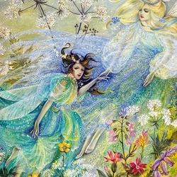 Пазл онлайн: Цветочные феи