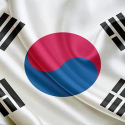 Пазл онлайн: Флаг Республики Корея